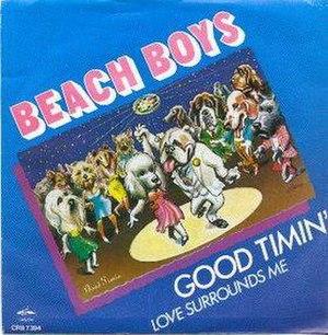 Good Timin' (The Beach Boys song) - Image: Beach Boys Good Timin'