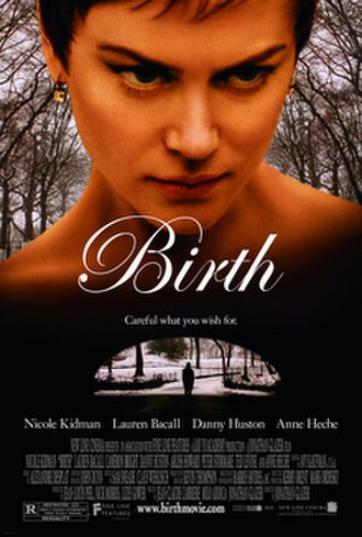 Birth (film) - Theatrical release poster