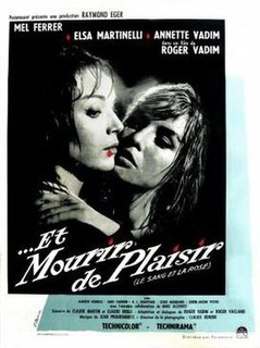 <i>Blood and Roses</i> 1960 film by Roger Vadim