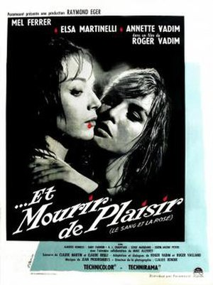 Blood and Roses - Image: Blood and roses poster