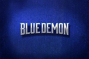 Blue Demon (TV series) - Image: Blue Demon logo