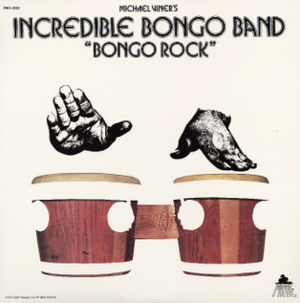 Incredible Bongo Band - Cover art for the 1973 album Bongo Rock