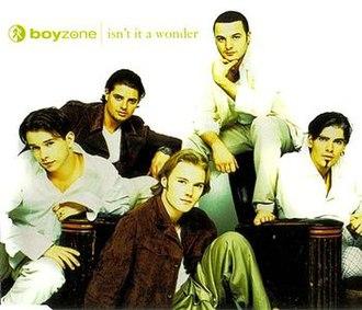 Isn't It a Wonder - Image: Boyzone Isn't It A Wonder