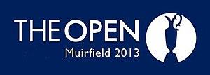 2013 Open Championship - Image: British open Muirfield logo 2013