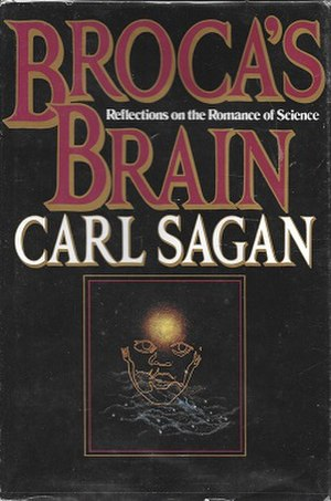 Broca's Brain - Cover of the first edition