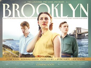 Brooklyn (film) - Theatrical release poster