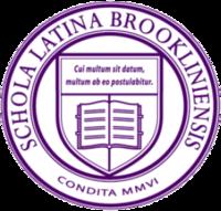 Broklina Latina Lernejo Logo.png