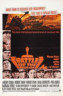 <i>Battle of the Bulge</i> (film) 1965 film by Ken Annakin