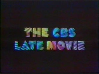 The CBS Late Movie - Original title card (1972–1984).