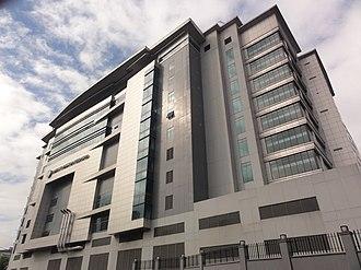 Christ's Commission Fellowship - Image: CCF Center (E. Rodriguez Ave. C5 Cor. Ortigas Avenue, Ugong, Pasig; 2014 12 14)