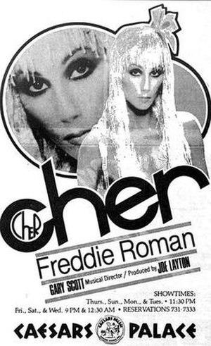 Cher in Concert - Image: C Elebrationat caesars