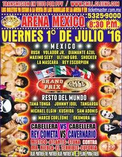 CMLL International Gran Prix (2016) Mexican professional wrestling tournament