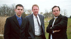 Canadian Arrow - Canadian Arrow founders from left to right: Dan McKibbon, Chris Corke, Geoff Sheerin.