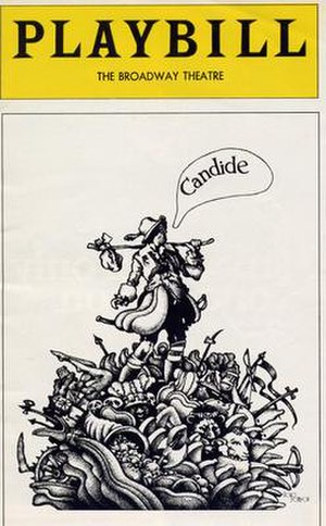 Candide (operetta) - Playbill from 1974 revival