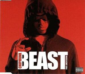 Beast (Chipmunk song) - Image: Chipmunkbeastcover