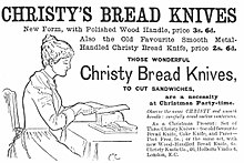 image of woman slicing bread