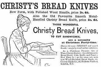 English Bread and Yeast Cookery - Victorian advertisement reproduced in the book