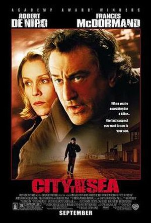City by the Sea - Promotional poster