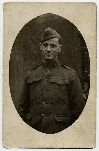 Gerald Nugent - Image: Corp G P Nugent 1918 Page 1