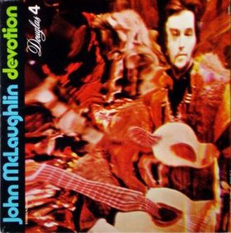 Devotion (John McLaughlin album) - Image: Cover devotion