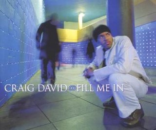 Fill Me In 2000 single by Craig David