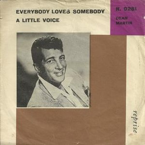 Everybody Loves Somebody - Image: Dean Martin Everybody Loves Somebody Single