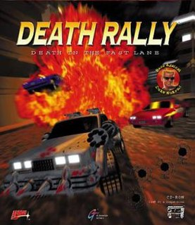 <i>Death Rally</i> video game