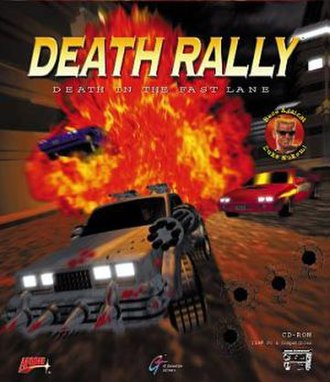 Death Rally - Image: Death Rally cover