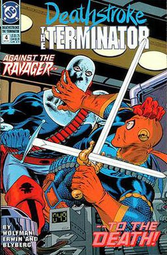 Ravager (DC Comics) - Image: Deathstroke 4