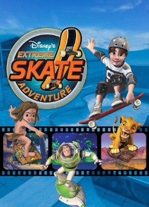 Disney's Extreme Skate Adventure - Image: Disney's Extreme Skate Adventure