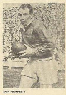Don Froggett England international rugby league footballer
