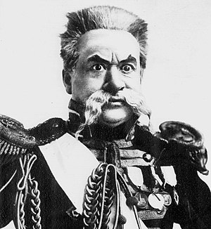 Willie Edouin - Edouin as General des Ifs in The Little Michus
