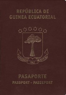 Equatorial Guinean passport