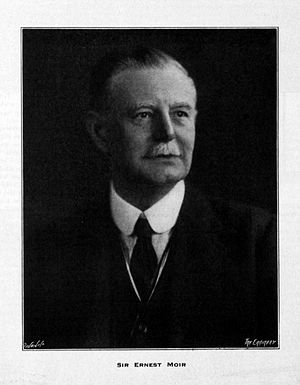 Ernest William Moir - Sir Ernest William Moir in 1917