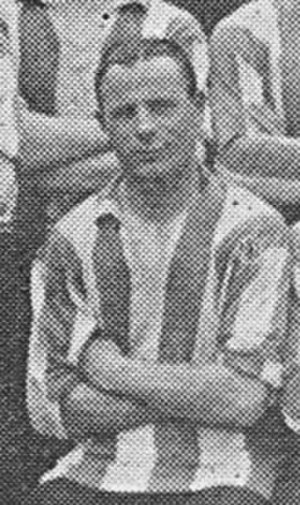 Ernie Watkins (footballer, born 1898) - Watkins while with Brentford in 1926