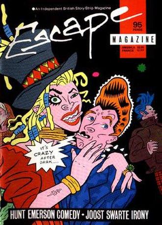 Escape (magazine) - Image: Escape magazine issue 3