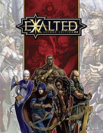 Exalted - Image: Exalted Second Edition Core Book