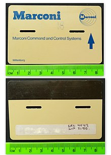 Magnetic stripe card - Wikipedia