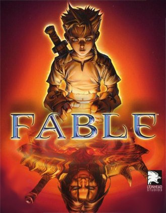 Fable (2004 video game) - Cover art