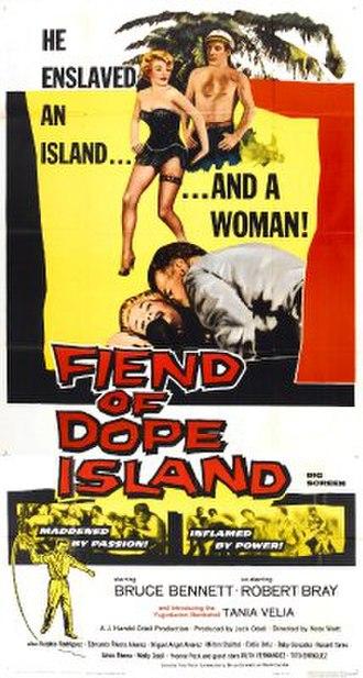 Fiend of Dope Island - Original film poster