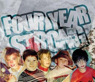Explains It All - Image: Four Year Strong Explains it All Cover