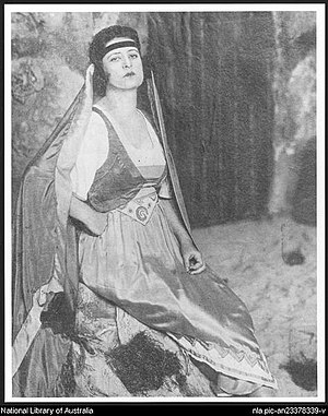 Gladys Moncrieff - Moncrieff as Teresa in The Maid of the Mountains (1921)