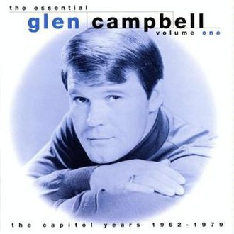 The Essential Glen Campbell Volume One - Image: Glen Campbell The Essential Volume One front cover