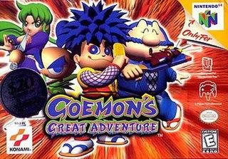 <i>Goemons Great Adventure</i>