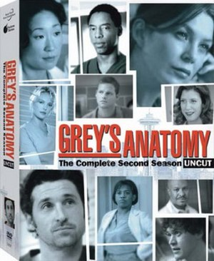 Grey's Anatomy (season 2) - Image: Grey's Anatomy Season Two DVD Cover