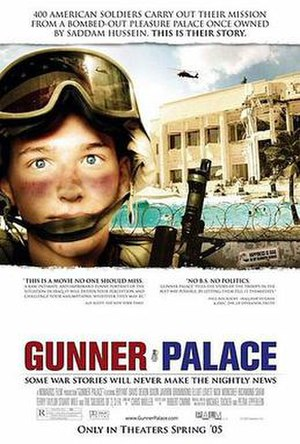 Gunner Palace - Theatrical release poster