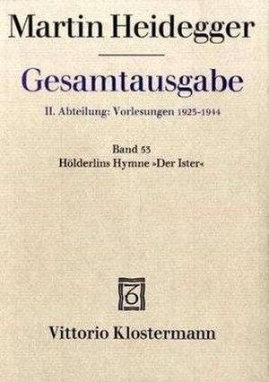 """Hölderlin's Hymn """"The Ister"""" - Image: Hölderlins Hymne »Der Ister«"""