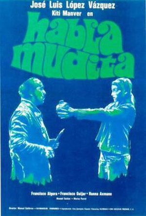 Habla, mudita - Spanish poster