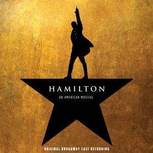 Hamilton (album) - Image: Hamilton cast recording cover