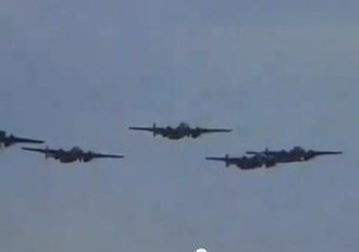 Hanover Street (film) - All five B-25s in Hanover Street were staged in formation for the opening raid sequence; the first time since Catch 22 in 1970 that a massed aerial sequence of B-25s was filmed.